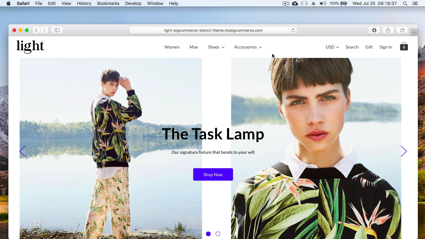 Bigcommerce Light Stencil Theme