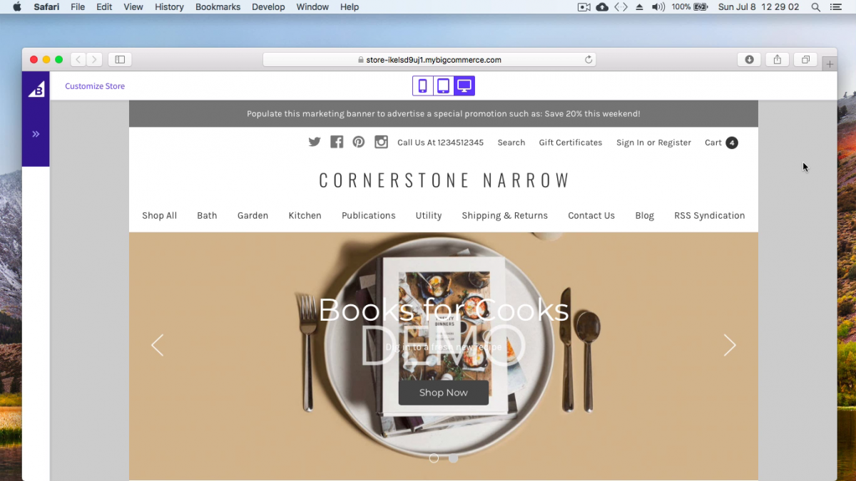 bigcommerce cornerstone narrow – free bigcommerce stencil theme
