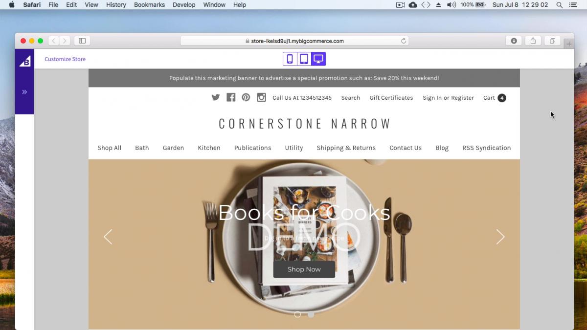 bigcommerce cornerstone narrow – free bigcommerce stencil theme